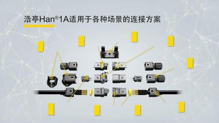 浩亭 Han® 1A - 用于小型通用工业连接器的全新标准