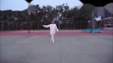 自学一剪梅健身舞-86岁晨练