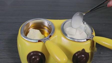 君晓天云慕斯蛋糕喷砂机烘焙法式西点小型巧克力喷枪家用高压加压喷沙商用