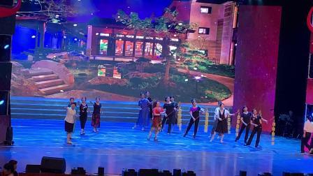 庆祝中华人民共和国成立70周年在闽侯影剧院走台。