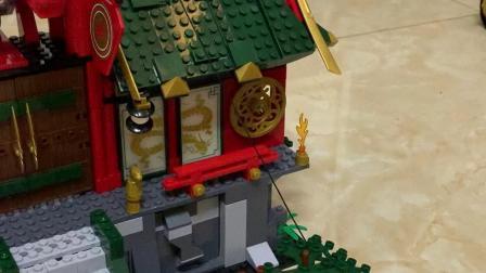 幻影忍者第11季蛇怪毒牙派忍者之城积木