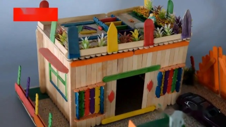 君晓天云雪糕棒diy手工製作材料沙盘模型材料木条冰棒棍木片小屋房子木棍