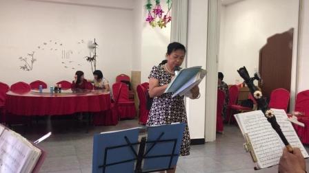 闽剧《丹桂图》之祭奠选段,杨耀玉演唱,主胡黄寄文。