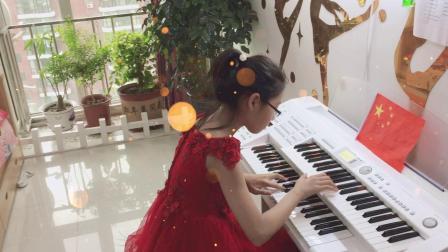 双排键独奏《我的祖国》