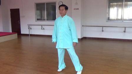 谢老师演示42杨式太极拳(正面)