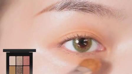 彩虹糖,牛油果绿,柠檬黄,是夏天的颜色没错了#牛油果妆#神仙眼影
