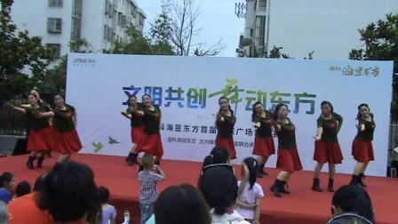 合肥大兴镇广场水兵舞《大兴英英舞蹈队》