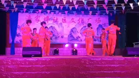 20191002房爱芹等舞蹈〈十送红军〉