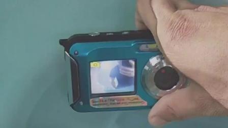 高清2400万像素双屏防水数码照相机旅行潜水自拍摄像一体机 拼多多