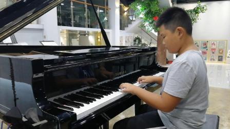 丁家浩琴行 明帅同学练习(德)贝多芬《G大调小奏鸣曲》第一乐章