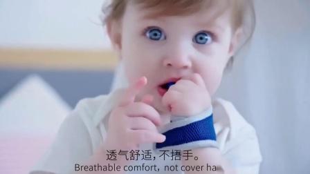 君晓天云宝宝防吃手神器儿童吃手矫正器吮咬吸大拇指套婴儿硅胶磨牙手指套