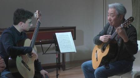 【古典吉他】福田进一吉他大师班授课实录-2019莫斯科 Guitar Virtuosi 2019 Moscow
