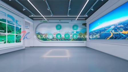 郑州展厅装修公司天恒装饰,焦作信息产业园展厅装修设计案例。