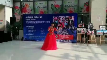 贫困助学圆梦文艺汇演★《故乡恋情》《报答祖国》刘美娟演唱