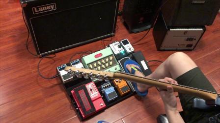 模仿复刻早期Steve vai单块效果器矩阵音色简短试听(部分效果器有替代)