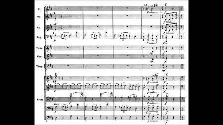 普罗科菲耶夫第一(古典)交响曲(乐谱)奥菲斯室内乐团