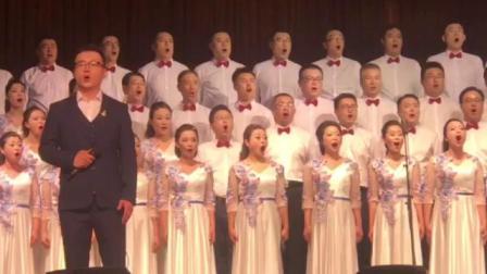 国庆70周年合唱大赛预赛淄川卫生健康局祖国不会忘记