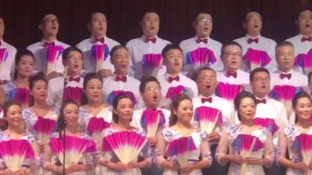 国庆70周年合唱大赛预赛淄川卫生健康局在希望的田野上