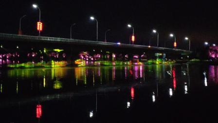 20191005  通州大运河森林公园北运河桥水幕灯光秀