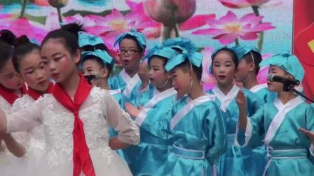 重庆市荣昌区桂花园小学热烈庆祝中华人民共和国成立70周年活动