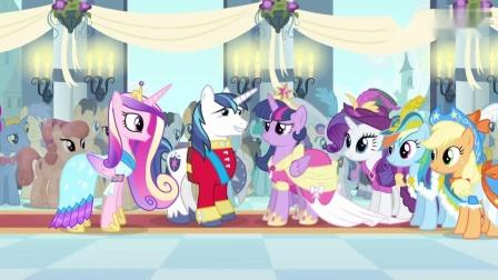 小马宝莉:紫悦加冕成小马利亚的新公主,是友谊让他成长!