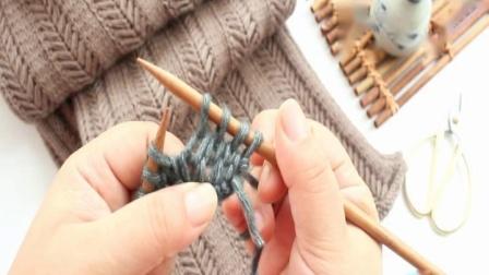 双人舞围巾的编织方法男女士情侣围脖教织