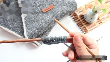 温暖你心毛线 如何织围巾之初见男士围巾教程