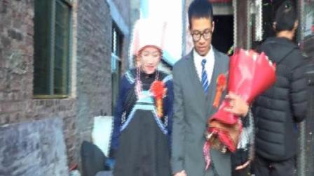 贵州省平塘县大塘镇掌奤罗应杰19年国庆节婚庆片段