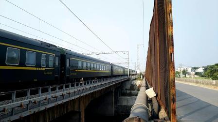 10.4进德湘桂线HXD3D牵引K21慢速通过k538