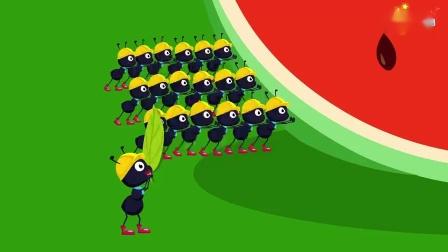 哈利讲故事 第54集 蚂蚁和西瓜
