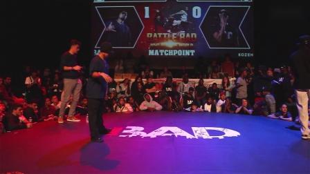 POPPIN DS vs NESS - Battle BAD 2019 - POPPING 半决赛