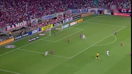 巴西全国甲级联赛第二十三轮巴伊亚1:2巴拉纳竞技