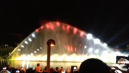 东莞市中心广场(南广场)音乐喷泉《我爱你中国》