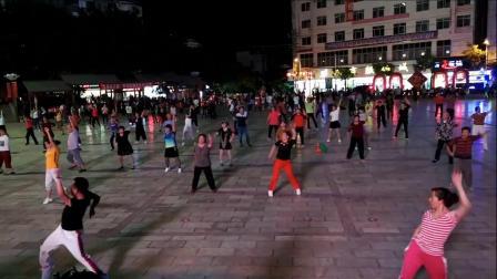 永善工农广场舞《谁》