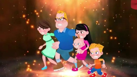 儿童卡通片:坏大叔使用披萨枪与超人家族进行对决