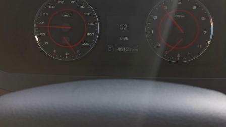 上汽大通g10百米加速测试