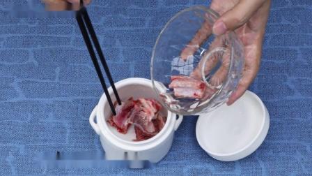 蒸烤箱品牌前五-蒸烤箱美食食谱-蜜汁叉烧肉+蒜蓉西兰花+茶树菇龙(排)骨汤+米饭