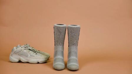君晓天云UZIS专业高筒篮球运动袜子男加厚毛巾底纯棉高筒长袜女潮椰子配袜
