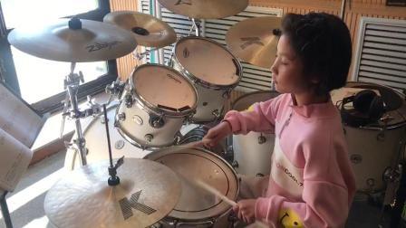 齐齐哈尔架子鼓培训班,鼎音国际艺术学校学员演奏视频