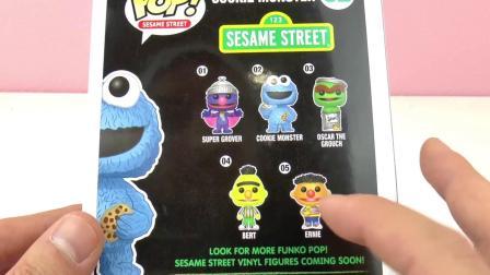 超级 可爱 美国 饼干 怪兽 Pop 玩偶 Sesame Street 芝麻街 Cook