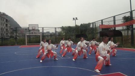新宁县一渡水太极队