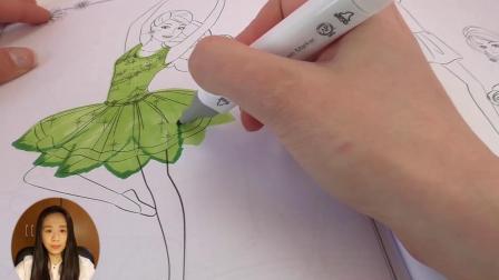 超级可爱 芭比 娃娃 Barbie 精灵 仙女公主 画画 绘画 彩绘 简笔(1)