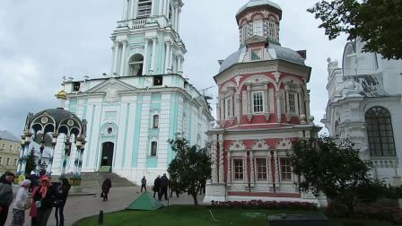 莫斯科谢尔盖圣三一大修道院游