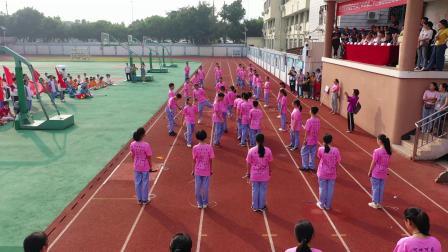 瑞安市滨江中学第二十三届田径运动会开幕