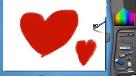 [当家清恬] 金山画王2003_画爱心--芊芊我爱你.LOVE