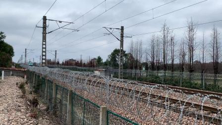 K1374次 SS90003 通过沪昆线K146KM斜桥师古桥