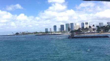 肝宝夏威夷7欧胡岛潜水艇体验威基基海滩看夕阳Hawaii submarine