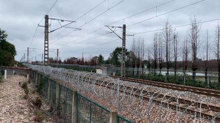 K1108次 HXD1D0141 通过沪昆线K146KM斜桥师古桥
