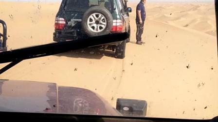 库布其沙漠加油