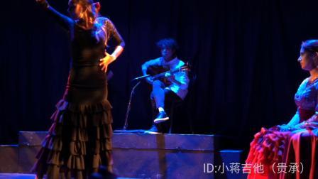 小蒋吉他 红松柏木弗拉门戈吉他 索利亚舞曲